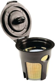 Solofill - 24k-Plated Refillable Filter Cup for Keurig(R)