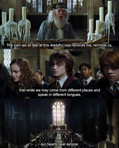 Because Hogwarts is a family - always has been, always will be.