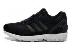 975ea40683 Soldes Nous Sommes Fiers De Vous Offrir La Femme/Homme Adidas Originals ZX  Flux Noir Blanche Chaussures Livraison Gratuite Super Deals JETkX7, Price:  $70.00 ...