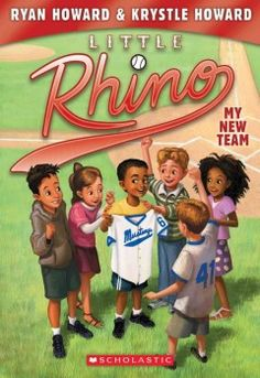 J FIC HOW. One afternoon, after a long day of second grade, Little Rhino comes home to find out that Grandpa James has signed him up for a baseball league! Little Rhino will finally be a part of a team! But Little Rhino will quickly learn that is not always so easy to a good teammate, especially when there's a bully wearing the same uniform as you.