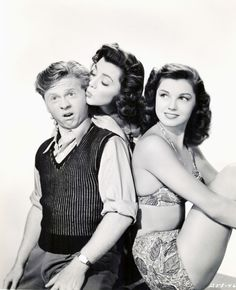 Mickey Rooney, Ann Rutherford, Esther Williams - Andy Hardy's Double Life
