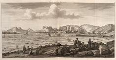 Tweede gesigt van Persepolis - 1704 - Cornelis de Bruijn - New York Public Library - Digital Collections