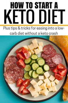 Starting the Ketogentic Diet? Here's how I eased myself into following the keto diet without experincing a keto crash! // Hey There, Chelsie