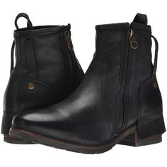 Womens Boots UGG Collection Stella Nero Leather