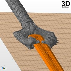 3D Printable Model: New Wonder Woman God Killer Sword | Print File Format: STL – Do3D.com