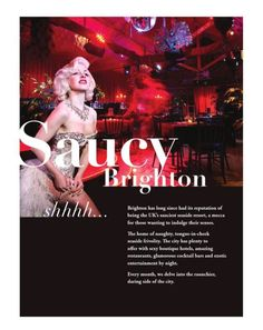 Saucy Brighton (Aug) - TBD