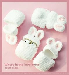Cute white rabbit knitted Case for Apple Airpods Case Bluetooth Earphone Headphone Accessories Charging Box Bag headphone apple – Headphone Kawaii Crochet, Cute Crochet, Knit Crochet, Crochet Case, Crochet Amigurumi, Diy Handbag, Airpod Case, Christmas Aesthetic, Apple Products
