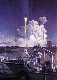 Cap Canaveral, Robert McCall