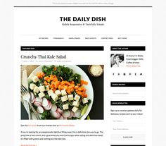 Daily Dish is a brand new theme for Genesis that is designed to present your content like it's the most appetizing dish at your favorite 4-star restaurant.  The main course of your site is, of course, your content: your words, your images, your videos, and more. Daily Dish orients visitors to focus on what's most important. $99.95