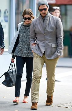 Olivia Palermo and Johannes Huebl are seen in the West Village on October 2012 in New York City. Get premium, high resolution news photos at Getty Images Olivia Palermo Outfit, Estilo Olivia Palermo, Olivia Palermo Style, Best Street Style, Street Style Women, Fashion Idol, Fashion Outfits, Street Fashion, Street Style Inspiration