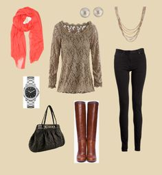 """""""Fall Chic"""" by horsegirllv on Polyvore"""