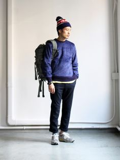 THE NORTH FACE PURPLE LABEL Stretch Serge Webbing Belt Pants