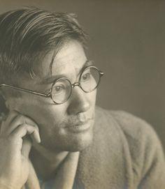 +~+~ Vintage Photograph ~+~+  Thoughtful portrait.  Japan.