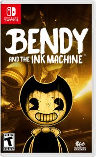 Bendy and the Ink Machine - GameStop by Rooster Teeth Video Game Nintendo Systems, Nintendo Games, Arcade Games, Rooster Teeth, Bendy And The Ink Machine, Console Pc, Teeth Games, Playstation, Buy Nintendo Switch