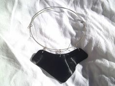 Vinyl Record Necklace #upcycle