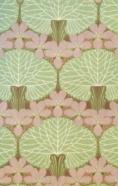 Design work by Rene Beauclair, produced in 1900. by elvia/patterns