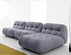 Nuvolone – modular sofa in grey | couch . Sofa . canapé | Design: Mimo |