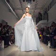 The Elsa-Inspired Wedding Gown is Here!