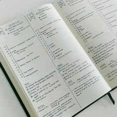 Detailed BuJo daily spread for maximum productivity. plus 100 more page ideas for your bullet journal! Looking for bullet journal page ideas to try? Here's a list that is guaranteed to inspire your next entry and give more life to your Bujo! How To Bullet Journal, Bullet Journal Notebook, Bullet Journal Inspo, Bullet Journal Spread, Bullet Journal Ideas Pages, Journal Pages, Journal List, Bullet Journal Time Tracker, Bullet Journal For Managers