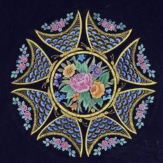 çiçekler ve kelebekler Dürdane Ünver