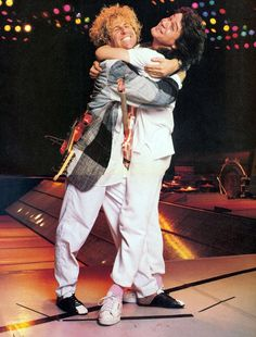 Sammy Hagar and Eddie Van Halen, Rock Music, My Music, Music Den, Music Stuff, Van Halen 5150, Van Hagar, Red Rocker, Old School Music, Eddie Van Halen