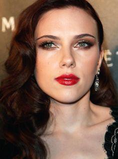 Maquiagem da Scarlett Johansson por Helder Marucci