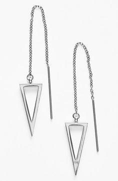 Rebecca Minkoff 'Jewel Box' Triangle Drop Earrings | Nordstrom