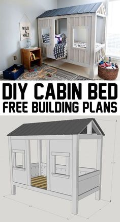 Diy cabin bed