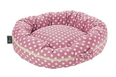 Hunter Donut Dotty Dog Bed Size 45 Light pink *** You can find more details by visiting the image link. (This is an affiliate link) Solid Wood Furniture, Bed Furniture, Dog Accesories, Dog Cushions, Dog Id Tags, Pet Beds, Animals And Pets, Donuts, Pet Supplies