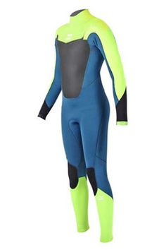 billabong blue and yellow wetsuit boys - Google Search