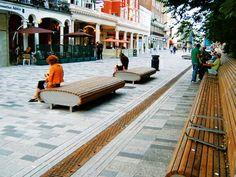 Satellite Seat Woodscape Street Furniture Bespoke Hardwood Street Furniture Timber Outdoor Furniture Landscaping Streetfurniture Seating