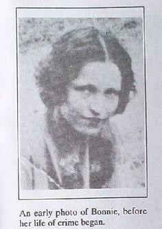 Bonnie Parker of 'Bonnie and Clyde'