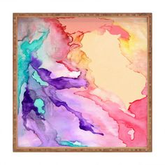 Rosie Brown Color My World Square Tray | Wayfair