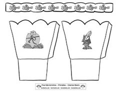 Free easter basket template lekkers pinterest easter baskets early play templates want to make a simple easter basket easter basket templates pronofoot35fo Images