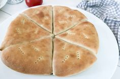 pizzabröd Fika, Bread Baking, Rolls, Ethnic Recipes, Breads, Bread, Baking, Bread Rolls, Braided Pigtails