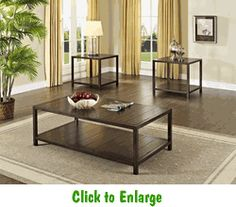 Tucker Occasional Table 3-Pack by Standard at Furniture Warehouse | The $399 Sofa Store | Nashville, TN