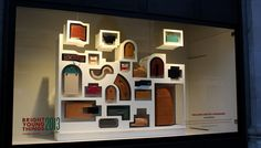 Sarah William's window at Selfridges Bright Young Things 2013