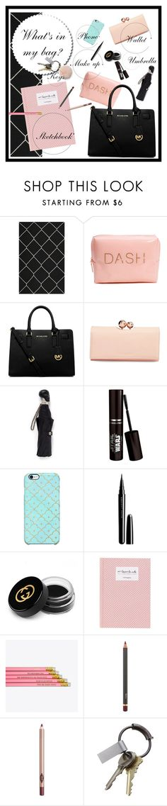 """Senza titolo #11"" by valentinaducceschi on Polyvore featuring moda, Safavieh, MICHAEL Michael Kors, Ted Baker, Alexander McQueen, Uncommon, Marc Jacobs, Gucci, Jane Iredale e Charlotte Tilbury"