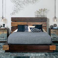 Sustainably Stylish - Iggy Bed - contemporary - Bedroom - Houston - High Fashion Home Room Ideas Bedroom, Home Bedroom, Bedroom Furniture, Bedroom Decor, Bedroom Colors, Luxury Furniture, Bedroom Designs, Master Bedroom, Bedrooms