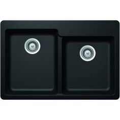 Hansgrohe 04872 SilicaTec 33 Double Basin Granite Composite Kitchen Sink for Dr (gilded bronze)