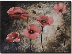Segma FL1-3027 Hand Painted Stretched Canvas Wall Art -- You can find out more details at the link of the image. (This is an affiliate link) #DIYHomeDecor
