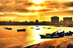 Amazing sunset at Alexandria !!  Book you Holiday Now with Blue Sky Tours Packages !!!  www.blueskygroup.net