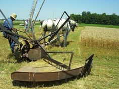 McCormick Reaper   above tim calvin harvests wheat with a mccormick reaper that was ...