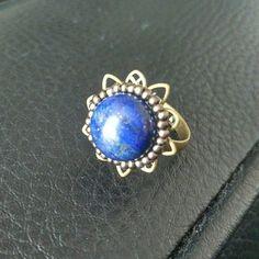 Vintage Femmes Baltique Argent Antique bague bijoux couleur ambre taille 6-10 Cadeau