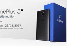 One Plus 3T Colette edition – 250 smartphone acquistabili nelle boutique di Parigi