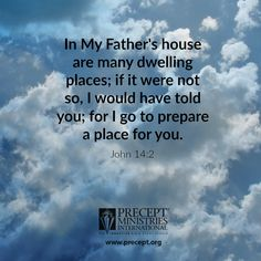 Jesus has prepared a place for you in His Father's house. Are you ready for Jesus to come and bring you to Himself?