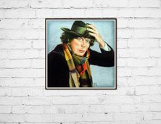 Check out this item in my Etsy shop https://www.etsy.com/listing/217438529/art-print-8x10-doctor-who-fourth-colored By Jen Monson #artprint #etsy #forsale #homedecor #walldecor #smallbusiness #wallart #doctorwho #fourthdoctor #tombaker #scarf #coloredpencilart #geekart #scify