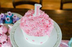 Princess smash cake