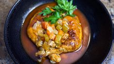 I just discovered this amazing recipe Country Braised Chicken on Panna by Chef Michael Anthony!