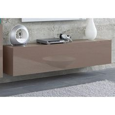 Buffet bas - Cappuccino- Vue 1 Living Divani, Storage, Table, Furniture, France, Home Decor, Linens, Shopping, Dinner Room